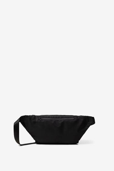 Maxi bum bag with logo | Desigual