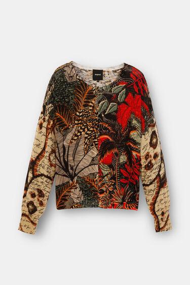 Tricot tropical jacket | Desigual