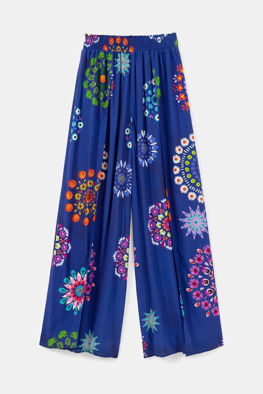 Pantaloni palazzo mandala | Desigual