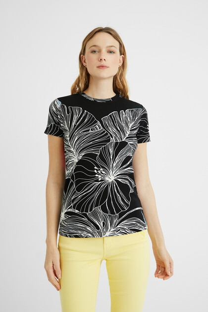 Tropical T-shirt short sleeve