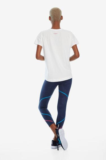 T-shirt oversize coup de pinceau | Desigual