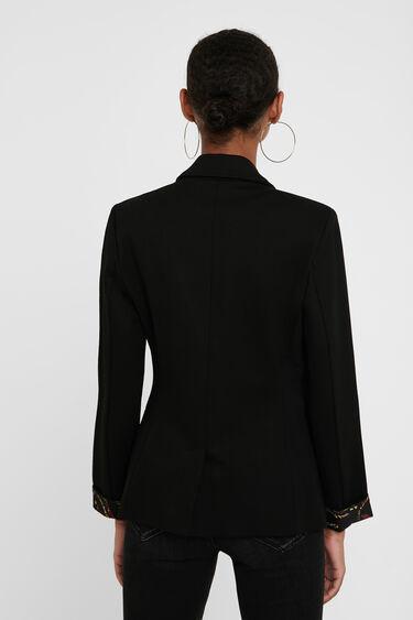 Slim mandalas blazer | Desigual