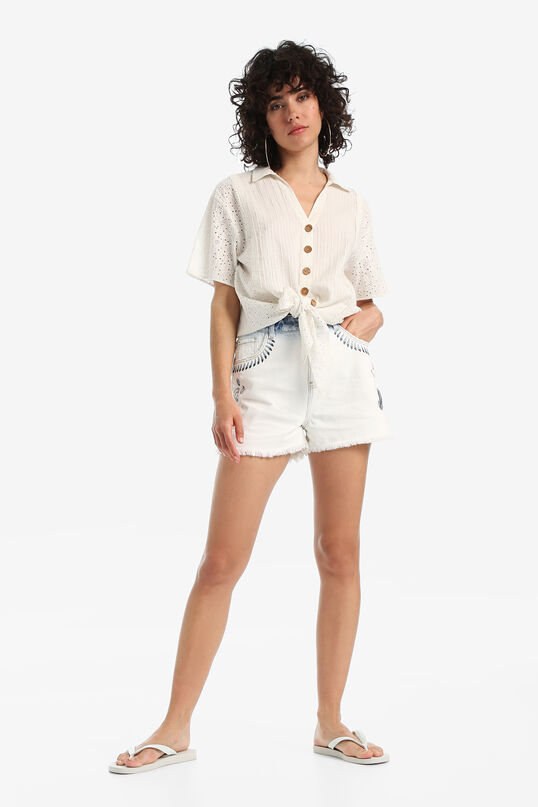 Boho shirt with knot | Desigual