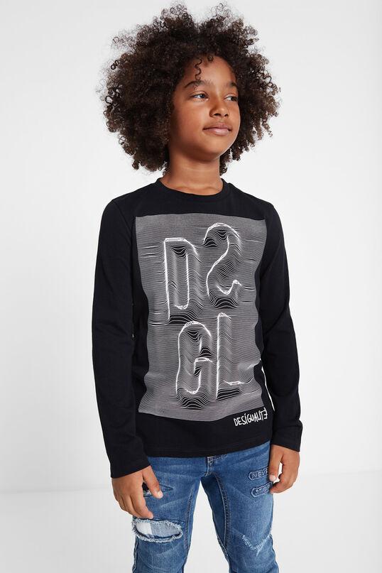 T-shirt DSGL tridimensional | Desigual