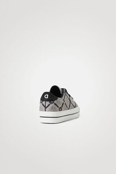 Street sneakers met dikke zool | Desigual