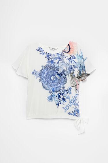 Camiseta estampado floral | Desigual
