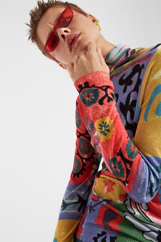 Boho polo neck jumper | Desigual