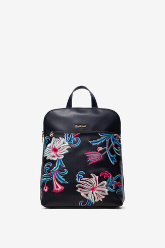 Floral Blue Backpack Nanaimo