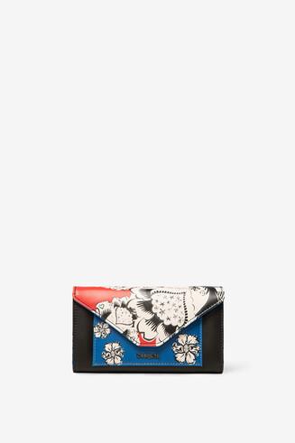 Long floral purse
