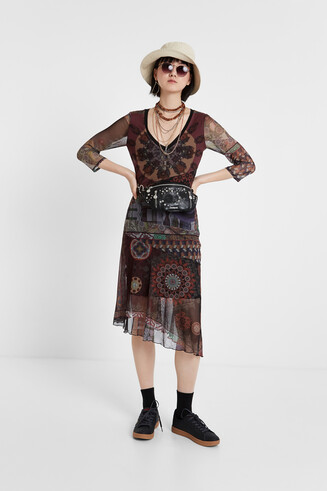 Boho multilayered dress