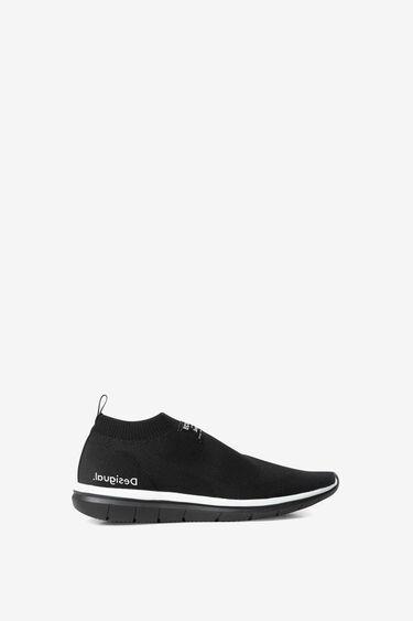 Sneaker chaussette monogram | Desigual
