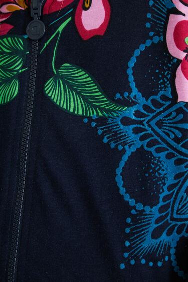 Reversible plush sweatshirt | Desigual