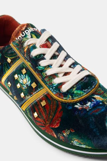 Sneakers zig-zag sole zippers | Desigual