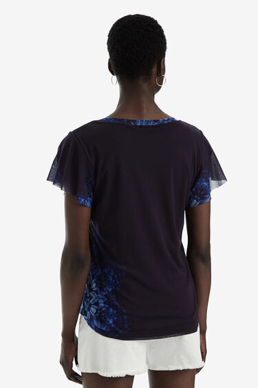 T-shirt borchie manica corta | Desigual