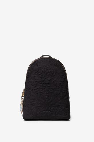 Black Padded Backpack Chelsea Lima