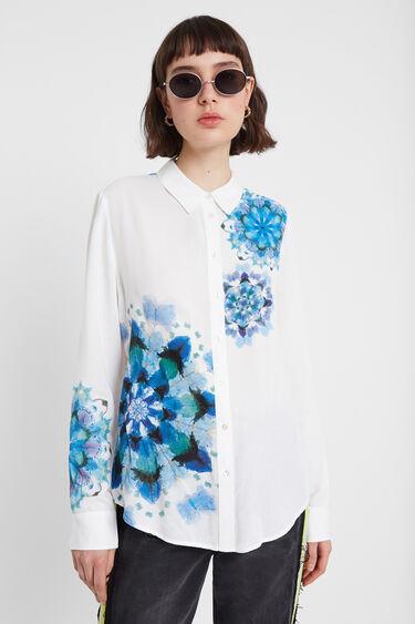 Shirt with mandala in watercolour | Desigual