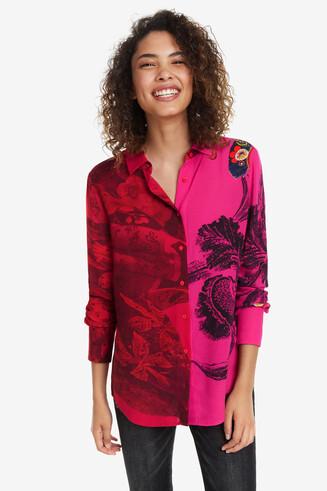 Camisa doble print Nagar
