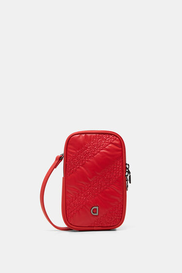 Rectangular sling bag coin purse | Desigual