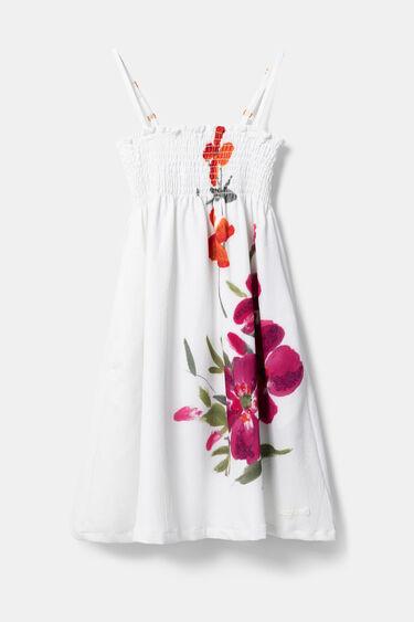 Vestit de tirants estampat floral | Desigual