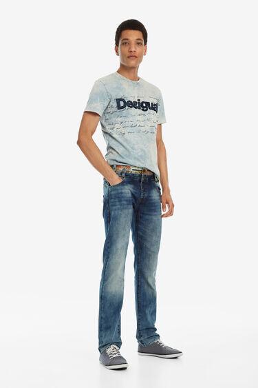 Regular denim trousers | Desigual