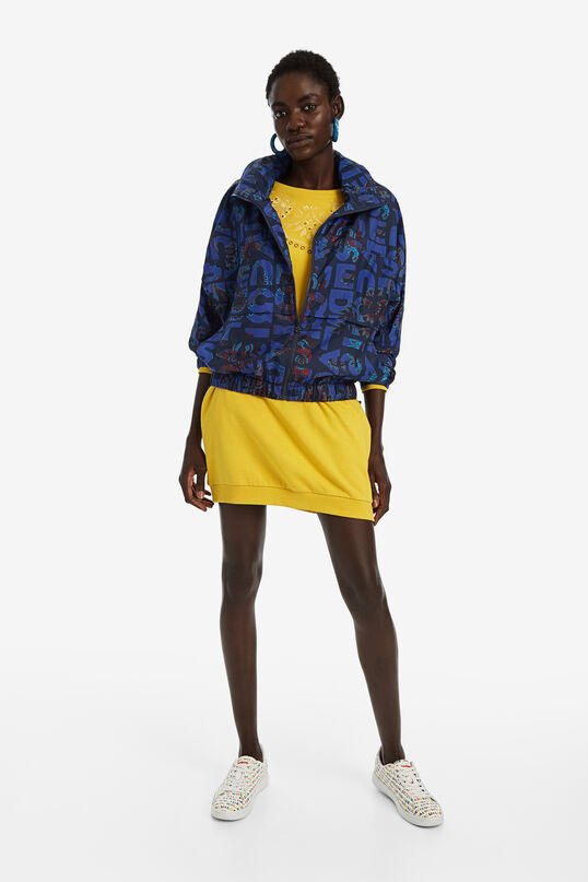 Lightweight logomania jacket | Desigual