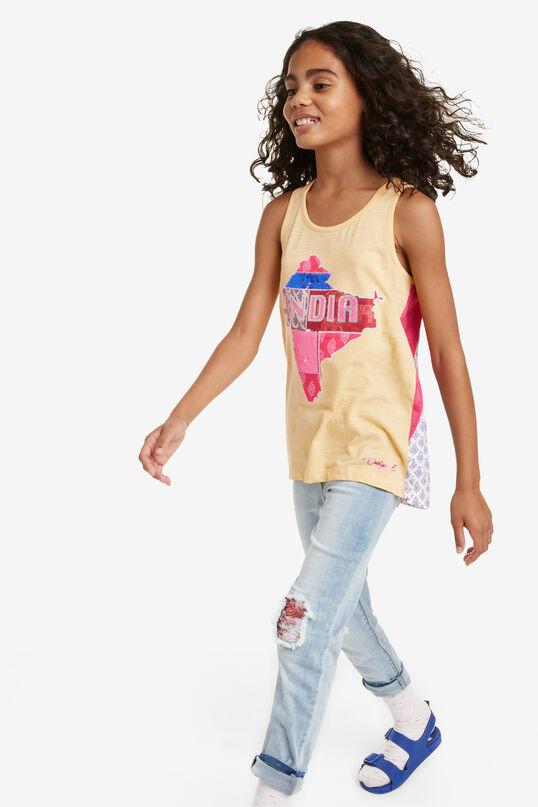 T-shirt hindou Distrito | Desigual