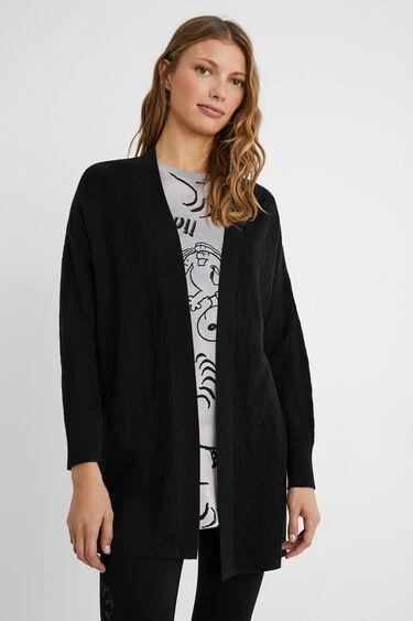 Open jumper pleasant drape | Desigual