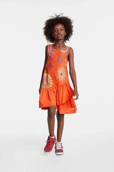 Vestit mandales florals | Desigual