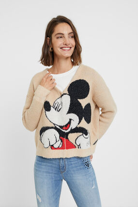 Jaqueta punt Mickey Mouse