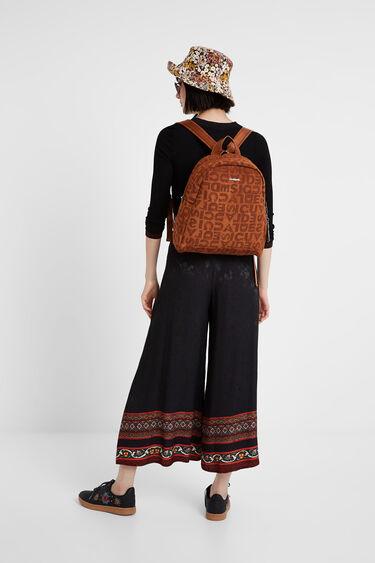 Pantalón ancho viscosa | Desigual