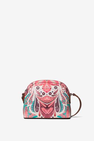 Paisley print sling bag