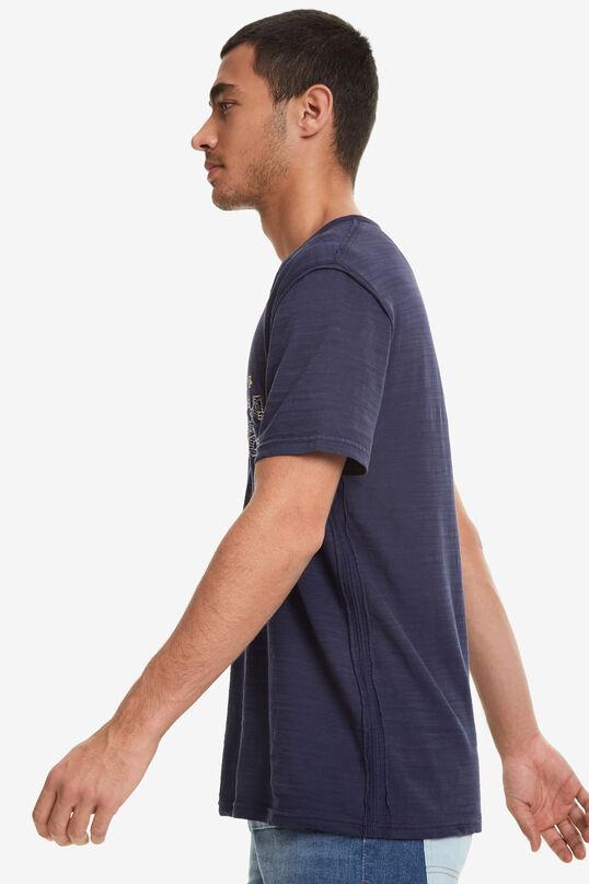 T-shirt col mao à boutons Pablo | Desigual