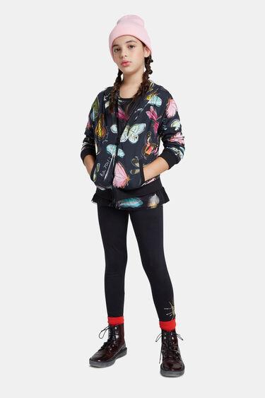 Basic legging met positionele print | Desigual