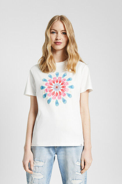 T-shirt with mandala