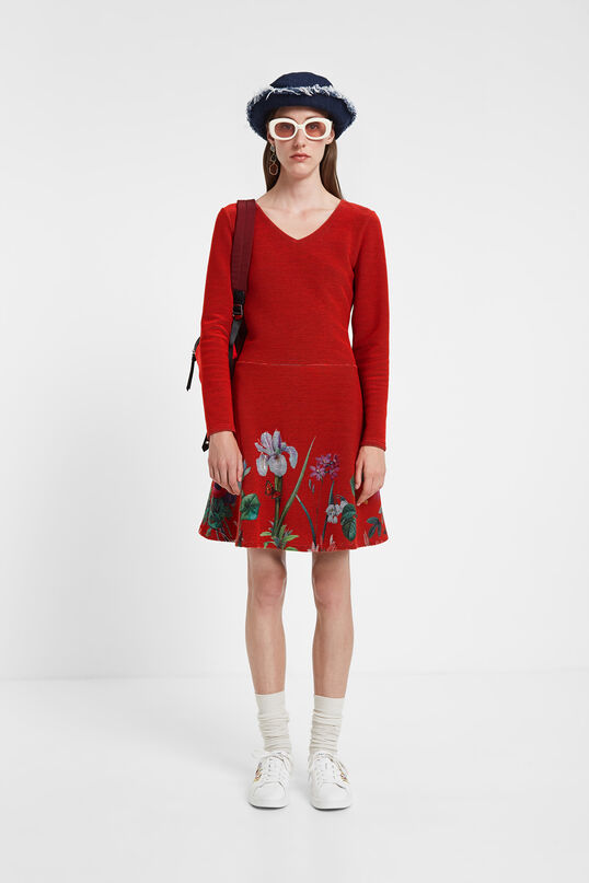 Flared dress flowers | Desigual