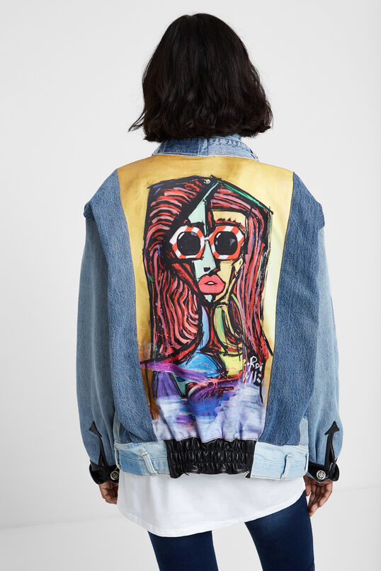 """Iconic jacket """"Chica Picasso""""   Desigual"""