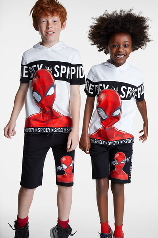 T-Shirt mit Kapuze Spiderman