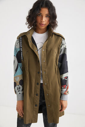 Parka capuche Mickey Mouse