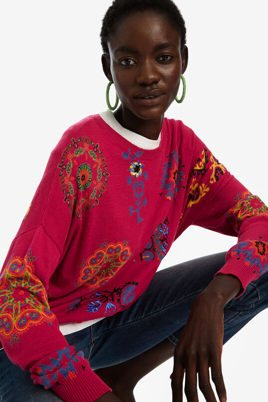 Fine cotton jumper | Desigual