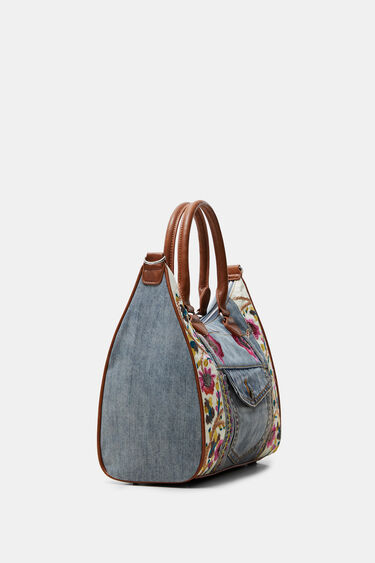 Floral denim bag | Desigual