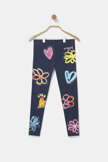 Legging largo slim flores | Desigual