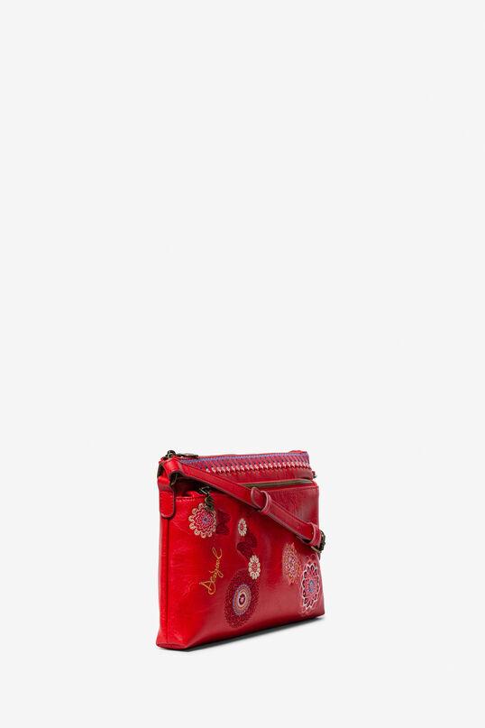 Black Embroidered Bag Chandy Durban | Desigual