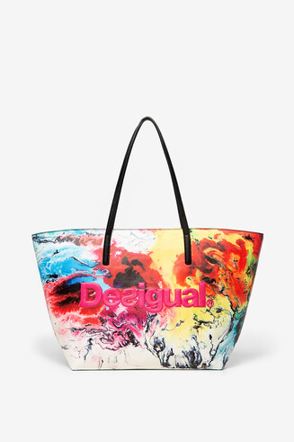 Arty shopping bag