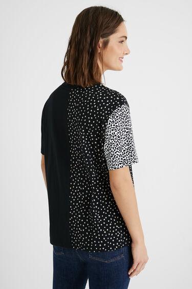 T-Shirt Punkte Spitze | Desigual