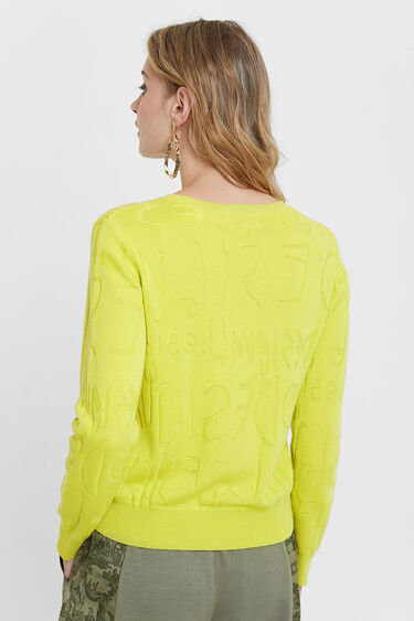 Logomania knit jumper | Desigual