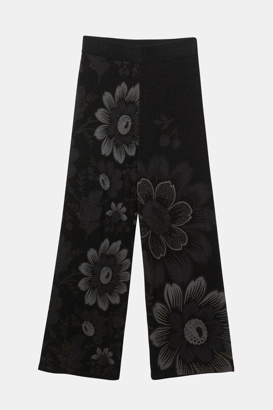 Long floral trousers | Desigual