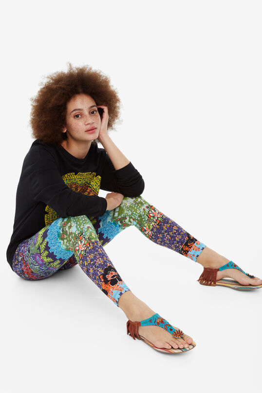 Leggings mit Dschungelprint Johanna | Desigual