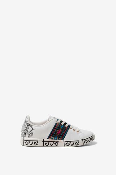 Hindu LOVE sneaker | Desigual