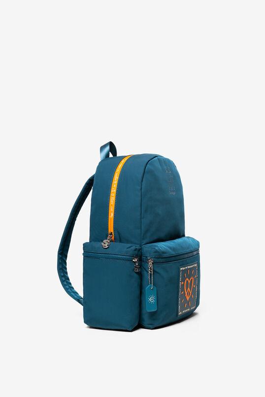 Zaino arancione tipo backpack OSS | Desigual