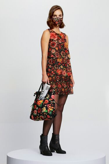 Floral flounces dress | Desigual